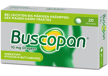 Buscopan<sup>®</sup> Dragees